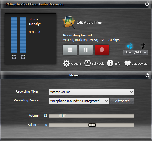 Free Audio Recorder